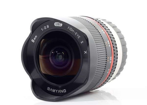 Samyang 8mm f/2.8 Fisheye II Lens for Fujifilm X