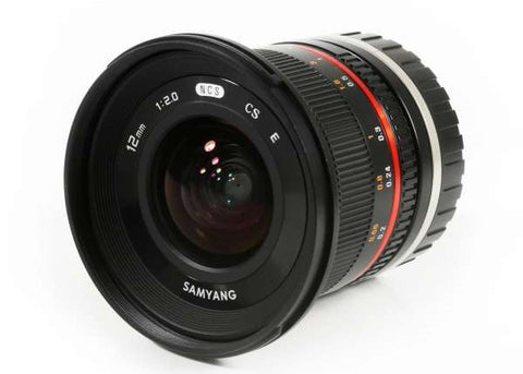 Samyang 12mm f/2.0 NCS CS Lens for Sony E Mount