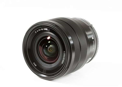 Sony E 10-18mm F4 OSS E-mount Lens
