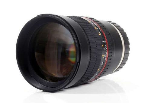 Samyang 85mm f1.4 Aspherical IF Lens for Fujifilm X