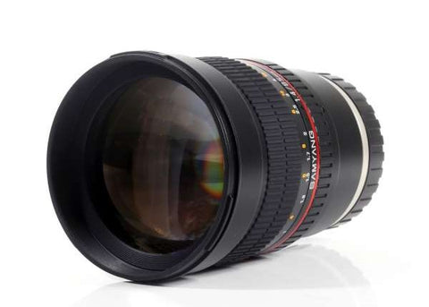 Samyang 85mm f/1.4 Aspherical IF Lens for Sony E
