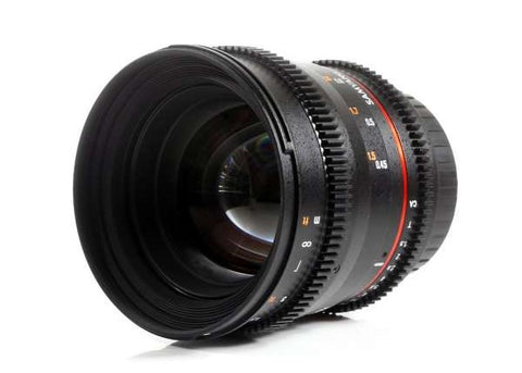 Samyang 50mm T1.5 AS UMC VDSLR Lens for Canon EF