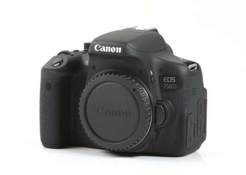 Canon EOS 750D DSLR Prima Photo & Video