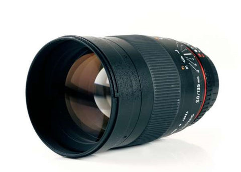 Samyang 135mm F2.0 AE Lens for Nikon