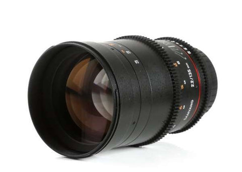 Samyang 135mm T2.2 AS UMC VDSLR II Lens for Nikon F