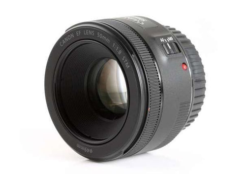 Canon EF 50mm f/1.8 STM Lens Lens Prima Photo & Video