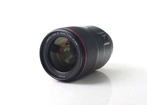 Canon EF 35mm f/1.4L II USM Lens Lens Prima Photo & Video