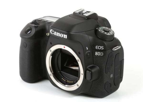 Canon EOS 80D DSLR Prima Photo & Video