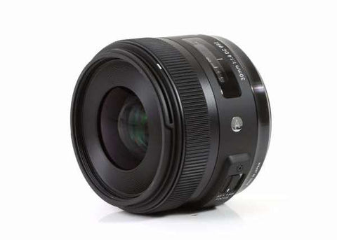 Sigma 30mm f/1.4 DC HSM Art Lens for Canon EF-S
