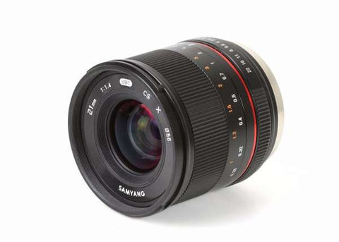 Samyang 21mm f/1.4 ED AS UMC CS Lens for Fuji X