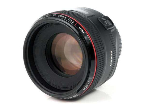 Canon EF 50mm F/1.2L USM Lens Lens Prima Photo & Video