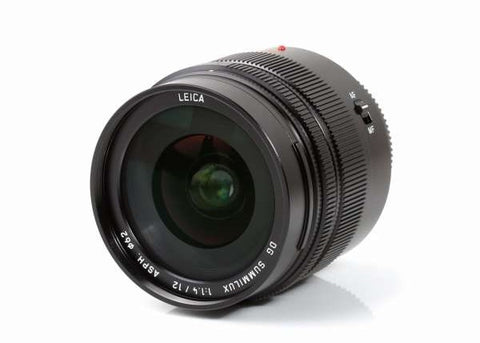 Panasonic Leica DG Summilux 12mm f/1.4 ASPH Lens Lens Prima Photo & Video