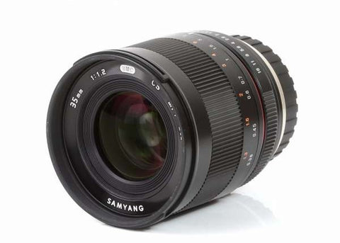 Samyang 35mm f/1.2 ED AS UMC CS Lens for Fuji X