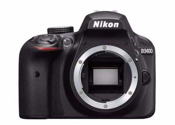 Nikon D3400 DSLR Prima Photo & Video