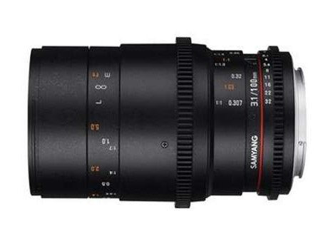 Samyang 100mm T3.1 VDSLRII Macro Cine Lens for Sony E