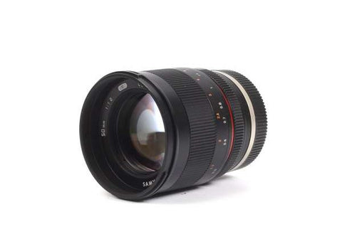Samyang 50mm F1.2 AS UMC CS Lens for Sony E