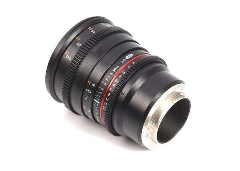Samyang 50mm T1.5 VDSLR AS UMC Lens for Sony E Mount Lens Prima Photo & Video