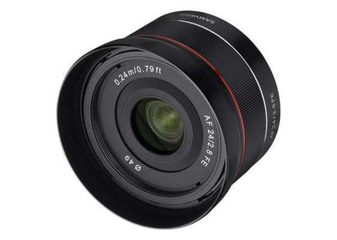 Samyang AF 24mm f/2.8 FE Lens for Sony E Mount Lens Prima Photo & Video