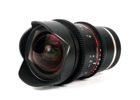 Samyang VDSLR 16mm T2.6 ED AS UMC Cine Lens for Canon EF