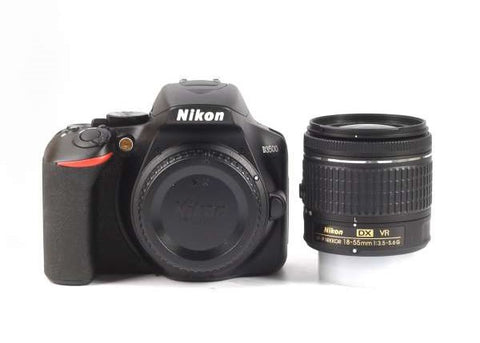 NIKON D3500 Digital SLR Camera + AF-P 18-55mm f/3.5-5.6G VR Lens
