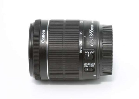 Canon EF-S 18-55mm f/4-5.6 IS STM Lens Lens Prima Photo & Video