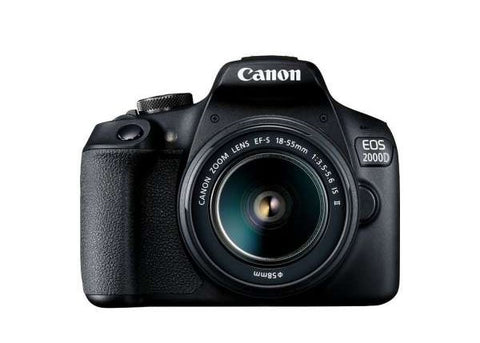 Canon EOS 2000D DSLR Prima Photo & Video