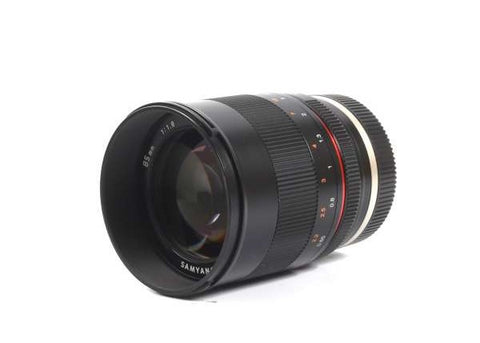 Samyang 85mm f/1.8 Lens for Sony E