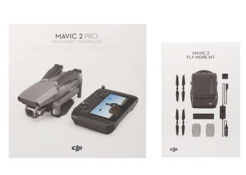 DJI Mavic 2 Pro (DJI Smart Controller) with Fly More Combo Kit