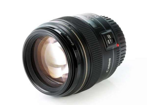 Canon EF 85mm f/1.8 USM Lens Lens Prima Photo & Video