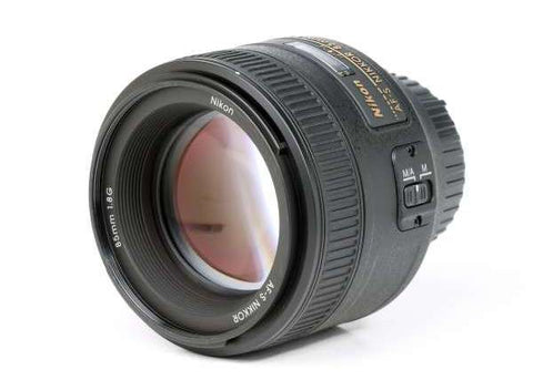 Nikon AF-S Nikkor 85mm f/1.8G Lens Lens Prima Photo & Video