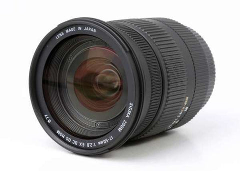 Sigma 17-50mm f/2.8 EX DC OS HSM for Canon EF-S