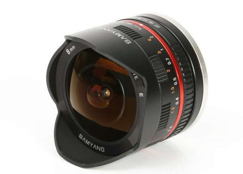 Samyang 8mm f/2.8 UMC Fish-eye lens II for Sony E