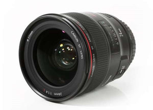 Canon EF 24mm f/1.4 L II USM Lens Lens Prima Photo & Video