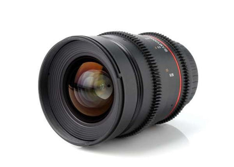 Samyang 24mm T1.5 VDSLR II Cine Lens for Canon EF Mount Lens Prima Photo & Video
