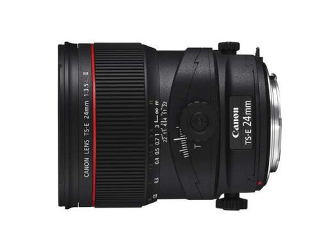 Canon TS-E 24mm f/3.5L II USM Tilt-Shift Lens