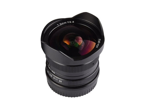 7artisans Photoelectric 7.5mm f/2.8 Lens for Canon EF-M Mount