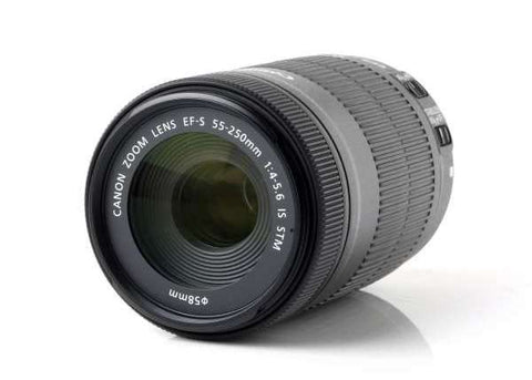 Canon EF-S 55-250mm f/4-5.6 IS STM Telephoto Zoom Lens Lens Prima Photo & Video