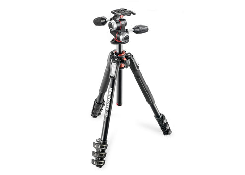 190 4-Section Tripod with XPRO 3-Way Head Kit