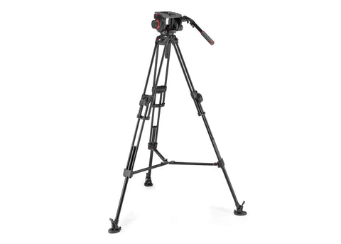 Manfrotto 645 FTT Tripod with 509 Pro Video Head Kit