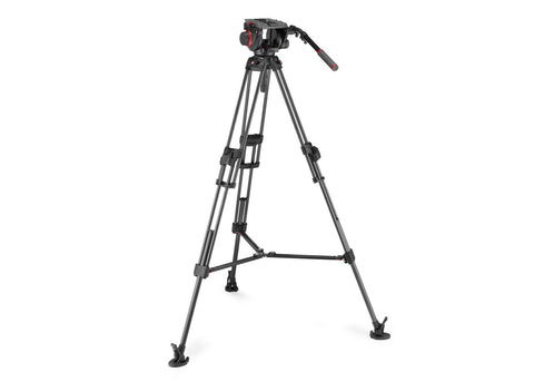 Manfrotto 645 FTT Carbon Fibre Tripod with 509 Pro Video Head