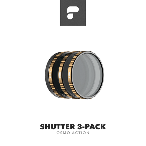 PolarPro Cinema Series - Shutter 3-Pack for Osmo Action