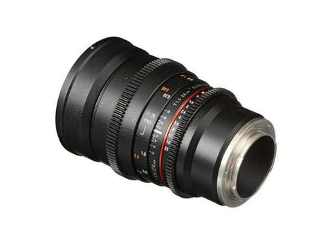 Samyang 24mm T1.5 VDSLR II Cine Lens for Sony E Mount Lens Prima Photo & Video