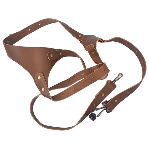 Prima Photo & Video Double Shoulder Camera Strap (Leather)