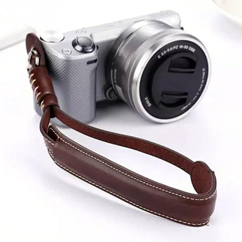 Prima Photo & Video Camera Wrist Strap (PU Leather)