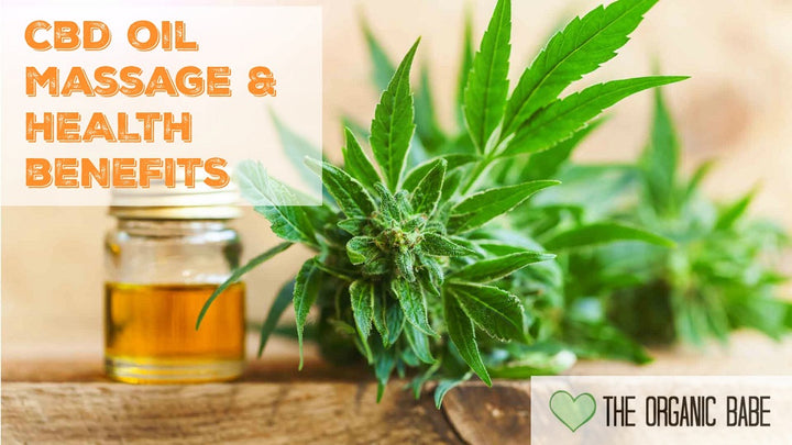 CBD oil massage to calm my nervous system