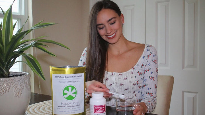 Organic Supplements | The Organic Babe
