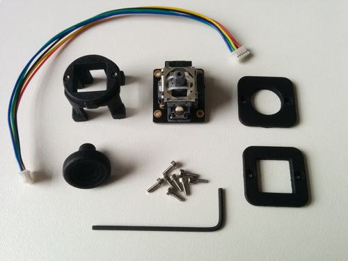 Analog thumbstick slew sensor upgrade for TM Warthog