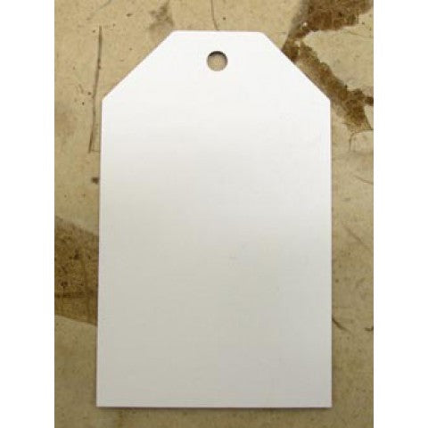 White Tags-  500gsm55mm x 90mm