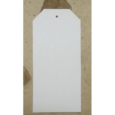 White Tags- 49mm x 105mm