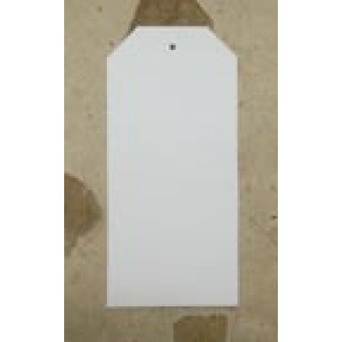 White Tags- 40mm x 90mm